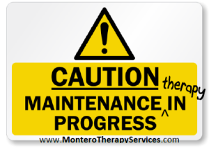 maintenance therapy confusion